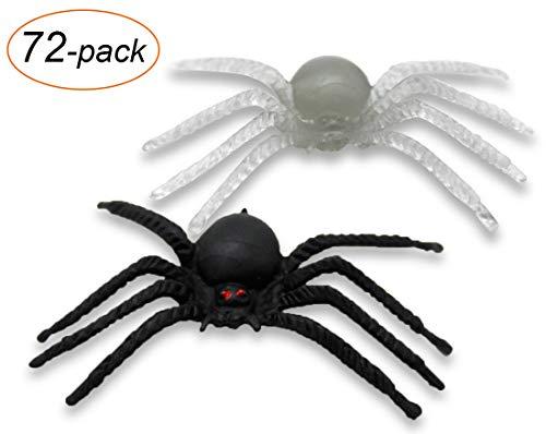 VentoMarea Spider Halloween Decorations Party Favor Glow in
