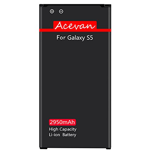Galaxy S5 Battery Acevan 2950mAh Li-ion Battery Replacement for Samsung Galaxy S5, Verizon G900V, Sprint G900P, T-Mobile G900T, AT&T G900A, G900F, G900H, G900R4, I9600 [3 Year Warranty] by Acevan (Image #6)