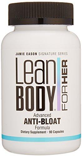 Labrada Nutrition Jamie Eason Lean Body for Her Advanced Anti Bloat and Detox Formula Capsule, Picamilon or Pikatropin Free, 90 Count