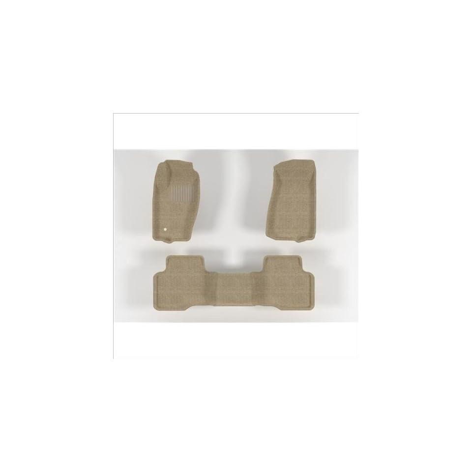 U ACE L1JP00102202 MAXspider CLASSIC 3D TAN Floor Mats JEEP