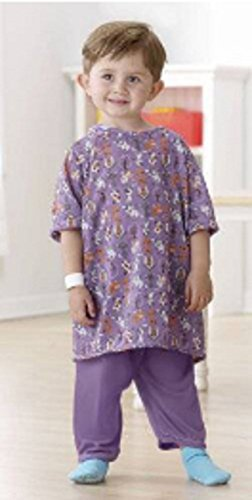 Pet Parade Pediatric Iv Shoulder Snaps Hospital Gowns for Toddlers & Kids (Small, -
