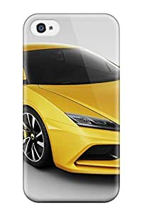 New AiEwpQD6578YEamR 2010 Lotus Elan Concept Car Skin Case Cover Shatterproof Case For Iphone 4/4s