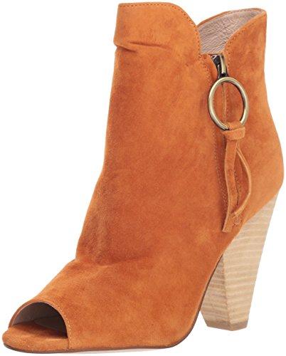 Chinese Laundry Kristin Cavallari Women's Richmond Ankle Boot, Pumpkin Suede, 7.5 M - Pumpkin Ring