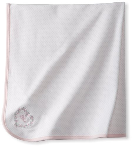 Little Me Baby Girls' Thank Heavens Tag Along Blanket, Pink, One Size (Girl Heaven Thank)