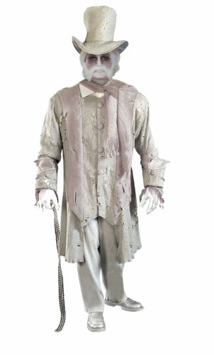 Gentleman Halloween Costumes (Forum Novelties Men's Ghostly Gentleman Costume, Gray/White, Standard)