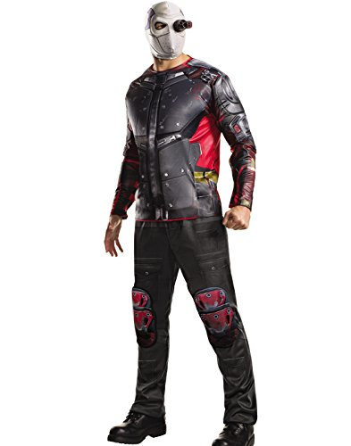 Rubie's Men's Suicide Squad Deluxe Deadshot Costume, As Shown, Standard -