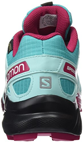 Salomon Speedcross 4 GTX W, Scarpe da Trail Running Donna Ceramic/Aruba Blue/Sangria