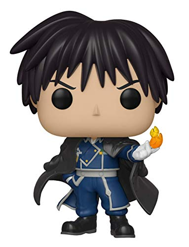 Funko Pop Animation: Full Metal Alchemist - Colonel Mustang Collectible Figure, Multicolor