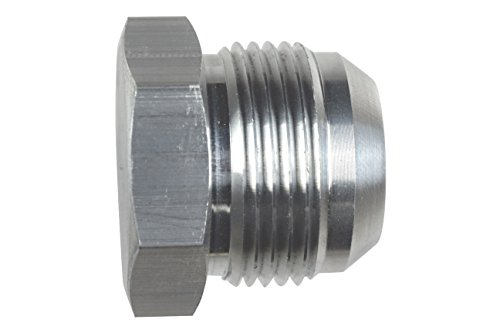 -16AN Flare Plug Male Nut 16 AN Block Off Cap Fitting Bare, AN806-16A