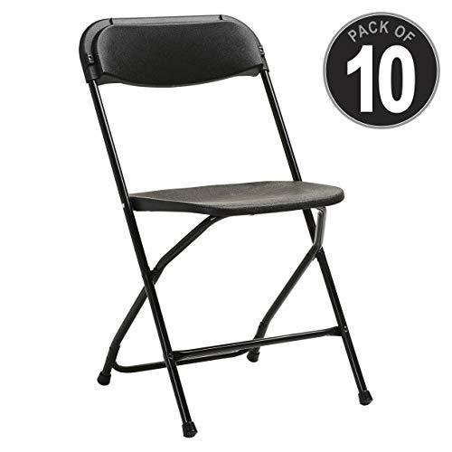- Samsonite Furniture 49754-1050 2200 Series Folding Chairs, Black