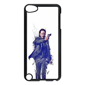 iPod Touch 5 Case Black hc87 john wick movie poster art actor SLI_612443