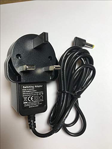 6V UK Omron Positive Mains AC Adapter For Upper Arm Monitors 9983666-5