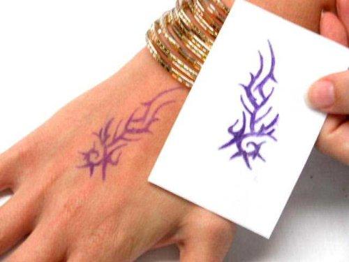 Jual Beachcombers Henna Tattoo Design Transfer Paper Stencil Maker