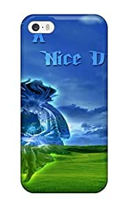 New Premium ZippyDoritEduard Nice Day Skin Case Cover Excellent Fitted For Iphone ipod touch4(3D PC Soft Case)