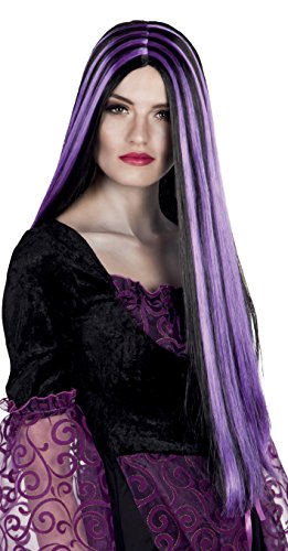 Boland 86080 Iona Wig Black / Purple -