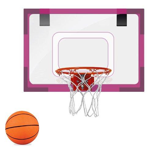 Brybelly Acrylic Mini Hoop-Pink