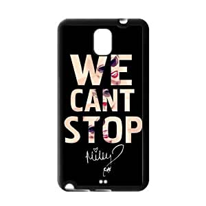 SevenArc Collectibles Miley Cyrus Samsung Galaxy Note 3 Case Cover TPU We Can Not Stop Quotes