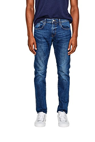 edc by Esprit Jeans para Hombre Azul (Blue Medium Wash 902)