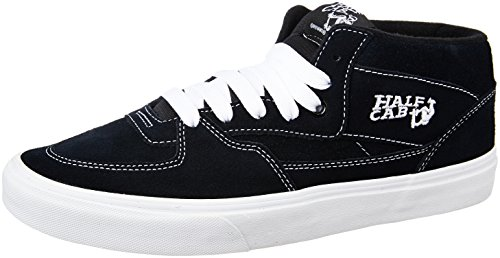 Vans Unisex's HALF CAB SKATE SHOES 13 (NAVY) by Vans