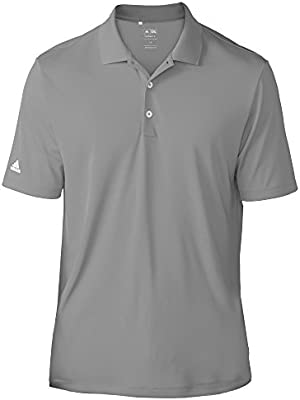 Adidas Teamwear Mens Lightweight Short Sleeve Polo Shirt (XS