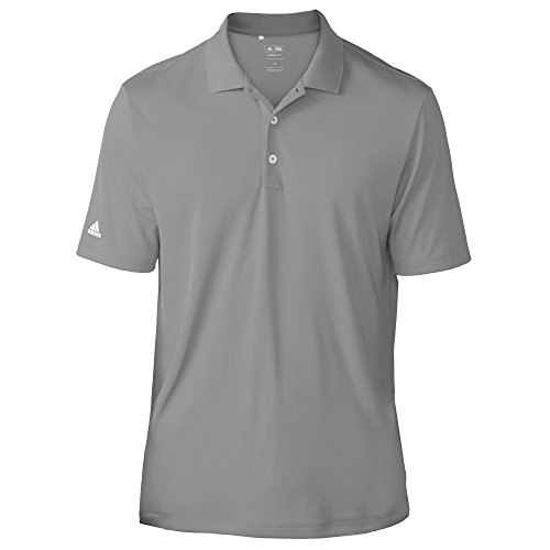 Homme Gris Adidas Courtes Manches Performance Polo SqwxpTfY