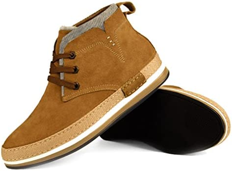 シークレットシューズ メンズ 7cm 身長up ビジネス カジュアル スエード 紳士靴 デッキシューズ スニーカー