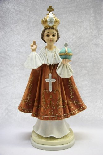 Infant Jesus of Prague Italian 18'' Statue Sculpture Figurine Made in Italy 18'' Tall by Vittoria Collection
