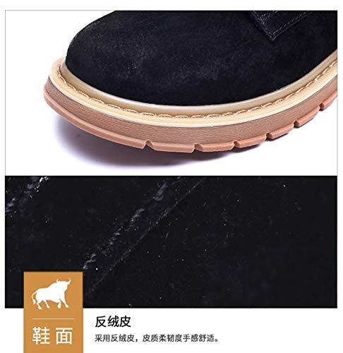 MON5F Home Herren Martin Stiefel Herrenschuhe Herren England Casual Workwear Workwear Workwear Stiefel Chelsea Stiefelies Herren High Top Schuhe (Farbe   schwarz, Größe   41) 692b25