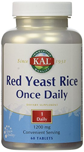 Once Daily Red Yeast Rice Kal 60 Tabs (60 Tabs Once Daily)