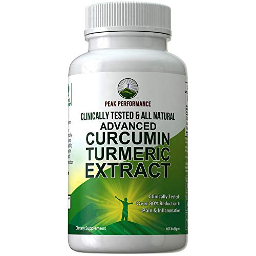 CLINICALLY Tested Upgraded Turmeric Curcumin Extract Capsules. 48X More Curcumin Absorption Over Standard Turmeric Supplements. Proven 82% Reduction of Pain in Trials. All Natural Supplement Pills
