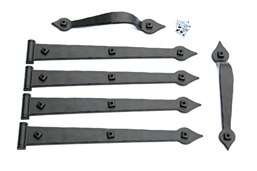 wrought iron hinges - 9