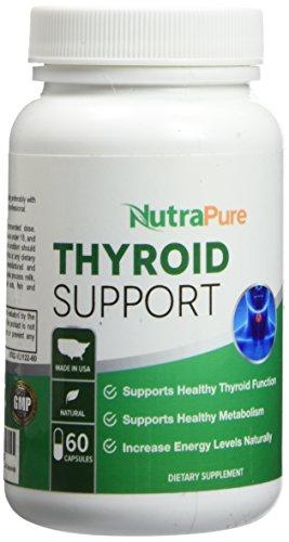 Premium Thyroid Support Supplement Non Gmo 120 Caps For