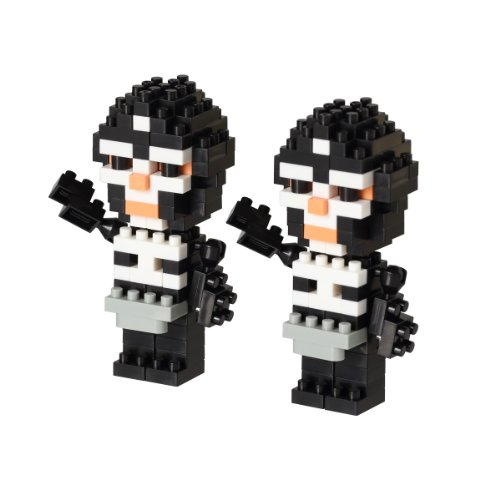 nanoblock soul Nation series Kamen Rider Shocker combatant NBTN_002