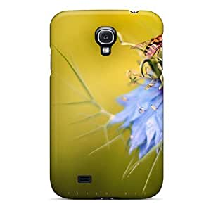 Cynthaskey Scratch-free Phone Case For Galaxy S4- Retail Packaging - Edgefield Blossom