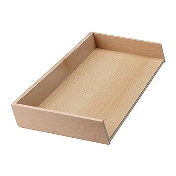 IKEA RATIONELL - Bandeja Cubiertos complemento unidad, haya - 20x50 cm