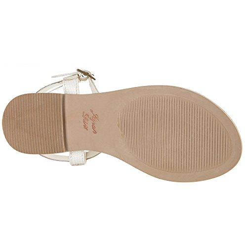 White White Thong Sandals Superdry Bondi qBwtSWWR
