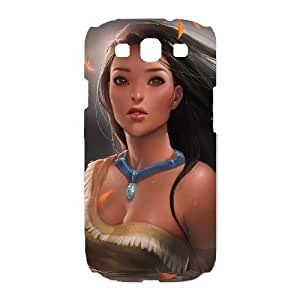 Samsung Galaxy S3 I9300 Phone Case White Pocahontas CXF338779