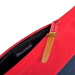 Herschel Supply Co. Anchor Sleeve for 13 Inch Macbook, Navy/Red, One Size