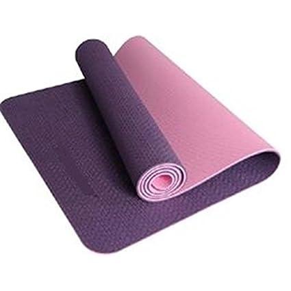 Estera de Yoga Hoopomania 183 x 61 x 0,5 cm, Violeta - Pink ...