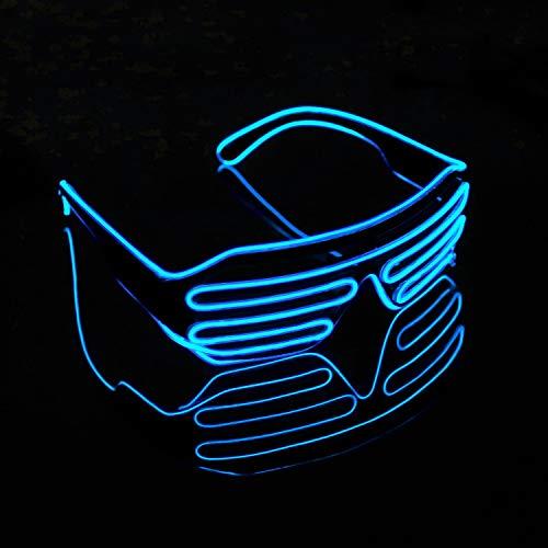 XSC EL Wire Light Up Glasses Neon Party