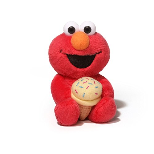 Gund Sesame Street Elmo Foodies Plush, 6″