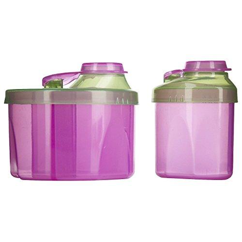 (Munchkin Powdered Formula Dispenser Combo Pack - Pink)