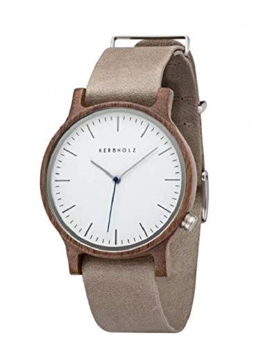 c5082c10faa5ea Kerbholz Armbanduhr Walter Walnut Grey  Amazon.de  Uhren