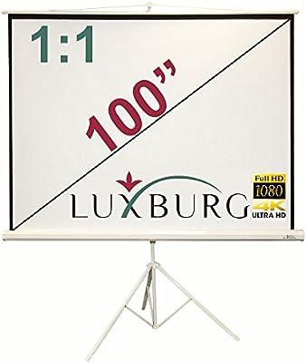Luxburg - Trípode Kunstbrüder 178 x 178 cm (Aprox. 100 Pulgadas en ...