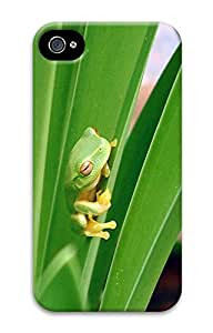THYde ipod Touch4 Case Little Green Frog Animal D Custom ipod Touch4 Case Cover ending