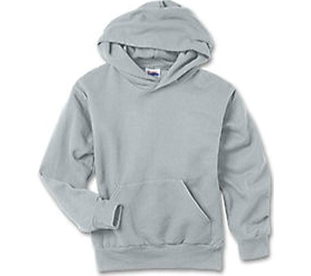 picture of Hanes Boys' Comfortblend Pullover Hood 7.8 oz (Set of 3),Light Steel,US XS