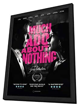 Much Ado About Nothing 2013 11 x 17 Movie Poster – Style A – in Deluxe Wood Frame