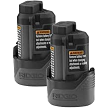 Ridgid R82009 Drill Replacement (2 Pack) 130188001 12V Lithium-Ion Battery # 130446011-2pk