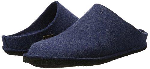 Haflinger 311010 Slippers, Filztoffel Flair Soft, Jeans, Gr 50 by Haflinger (Image #6)