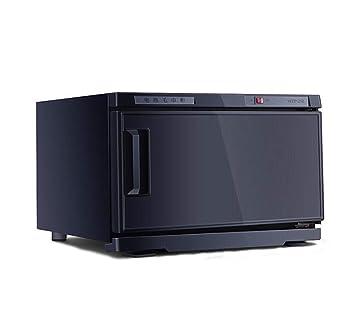 2 en 1 Caliente Toalla Calentador 25L/50L UV Ligero Esterilizador de Toallas Desinfección Gabinete
